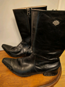 Harley Davidson Woman's leather boots