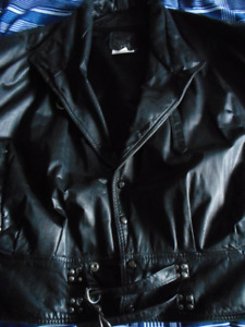 Leather Ranch, black leather jacket