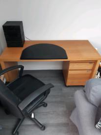 IKEA lommarp office desk | in Ingol