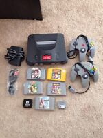 N64 Bundle (console, controllers, and games)
