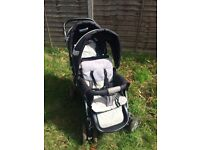 Safety 1st Double Buggy pushchair with rain cover great condition