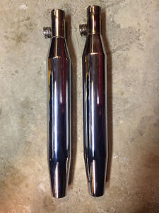 OEM stock mufflers for FXST