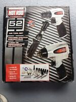 HOT ROD 52PC AIR TOOL SET BRAND NEW IN THE BOX NEVER USED