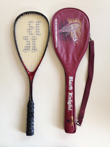 Squash racquets-3 Prince and 1 Black Knight,