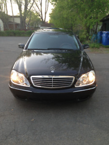 MERCEDES S430 2000~PROJECT CAR ~NEEDS WORK