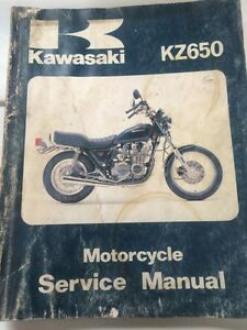 1981 Kawasaki Factory KZ650 Service Manual