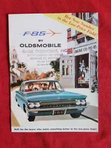 1961 OLDSMOBILE F-85 F85 NOS Dealer Sales Brochure US PRINT