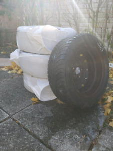 Winter tires with rims 16 inch 250$ obo