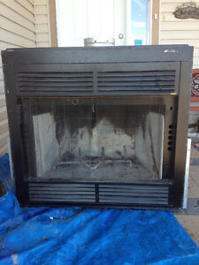 GAS INSET FIREPLACE