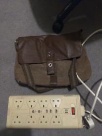 Free satchel and Belkin Surgemaster