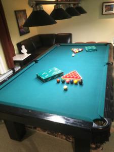 Table snooker 4 1/2 x 9