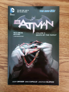 Batman Death of the Family - Read once, mint condition