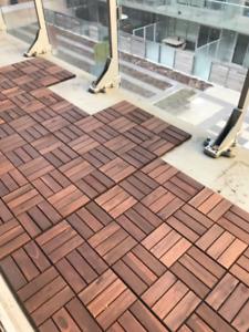 Weather resistant outdoor flooring!