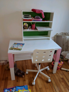 Child Desk with add-on unit and child desk