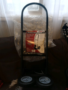 Olympia steel hand truck, moving dolly
