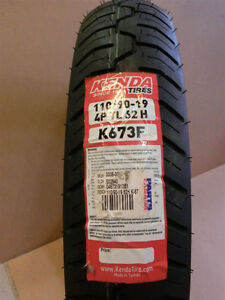 Motorcycle tire 110/90-19 for sale