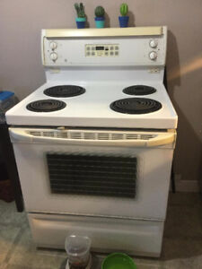 white Stove -must sell