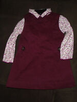 ♥ Girls dreses size 12 -18 months , LIKE NEW , 5$ ♥   ***