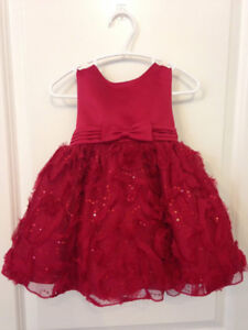 Gorgeous Litttle Red Dress Size: 2T
