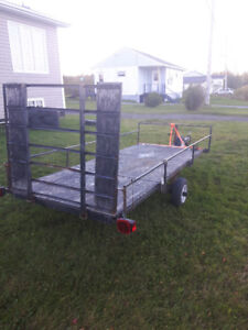 "utility trailer, 50"" wide x 10'"