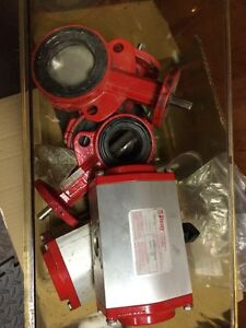Used Bray Actuators and Valves