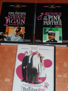 2 dvd PINK PANTHER peter sellers.