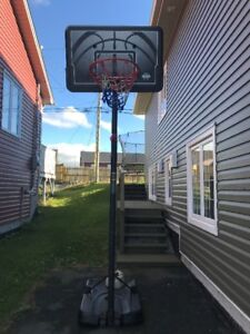 Basketball Net and Backboard