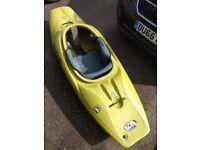 Liquid Logic CR250 Kayak and Paddles