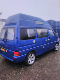 Vw transporter hight top camper van greatly loved