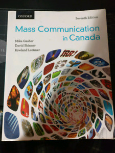 Mass Communications in Canada 7th Edition
