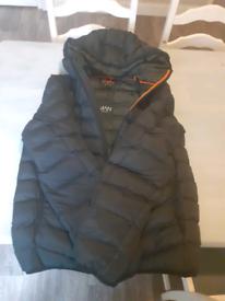 Mens brand new small black coat