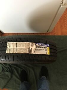 New Michelin Defender all season tires 205 70 14 full set