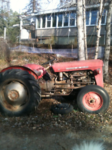 53 MASSEY FERGUSON TRACTOR WITH 3/PT HITCH