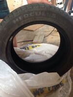 Hercules winter tires 205/55 R16 only used 5 months