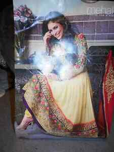 Beautiful brand new pre-stitched material for anarkali suit
