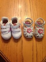 Size 3W toddler girl shoes