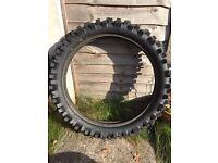 Motocross Tyre 100/90-19 Dunlop Sport D756