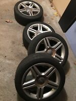 Audi OEM mags with summer tires