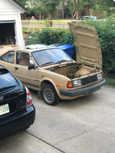 Looking for 80's skoda for parts.