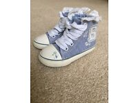 Baby girl blue (Demin looking) boots from Next