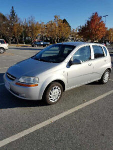 2006 Chevrolet Aveo Hatchback *Reduced Price*