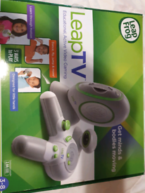 Leap tv and games