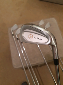 Miura forged irons