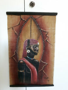Handsome Maasai Man Wall Hanging