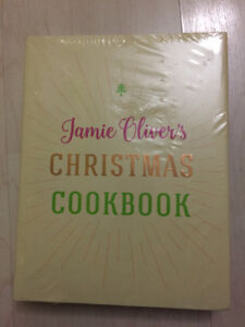 Jamie Oliver's Christmas Cookbook NEW IN PACKAGE