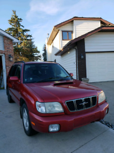 Forester stb $4000.