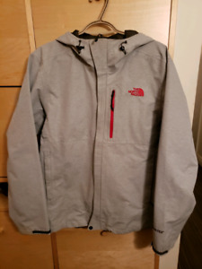 North Face Gore Tex rain shell - mens size medium