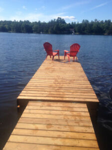 cottage for rent - fall in muskoka