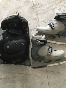 Adjustable skates from size 1-4