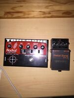 Radial tone bone pedal hot British priced to sell!